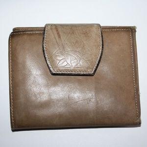 Beautiful vintage Rolfs Brown wallet